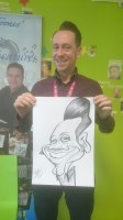 Caricature Artis Manchester Areas For Hire